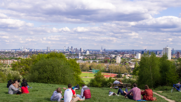 Parliament Hill bij Hampstead Heath