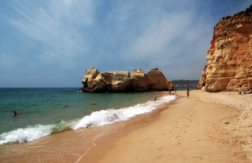 Stranden van de Algarve
