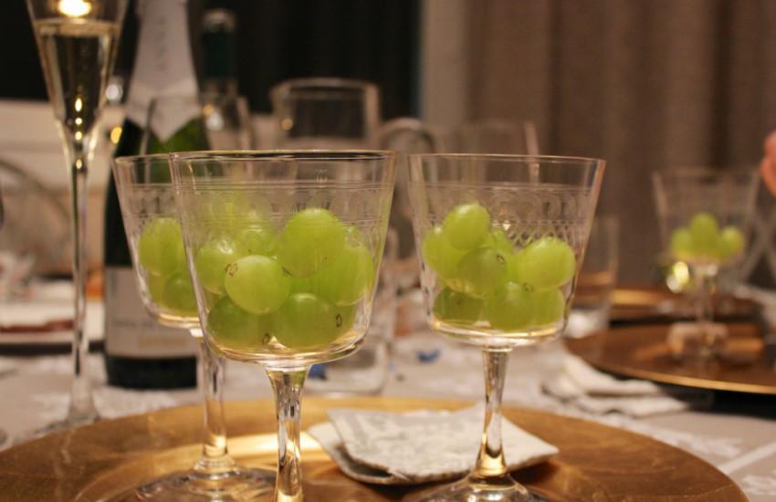 12 druiven eten in Spanje