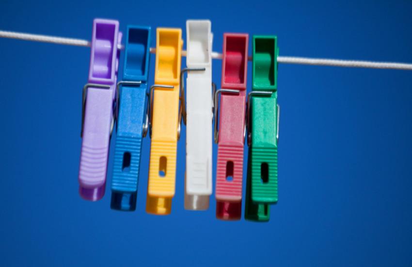 Gekleurd ondergoed aandoen in Zuid-Amerika