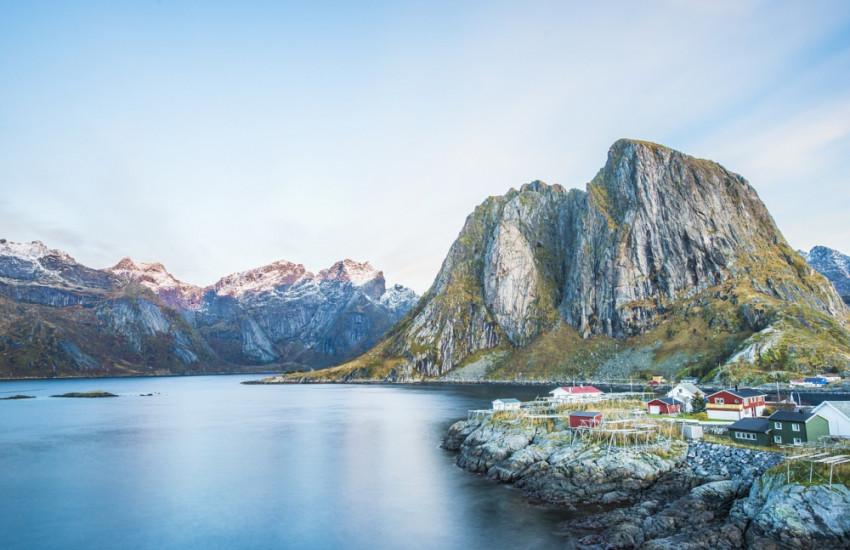 De fjorden in Noorwegen