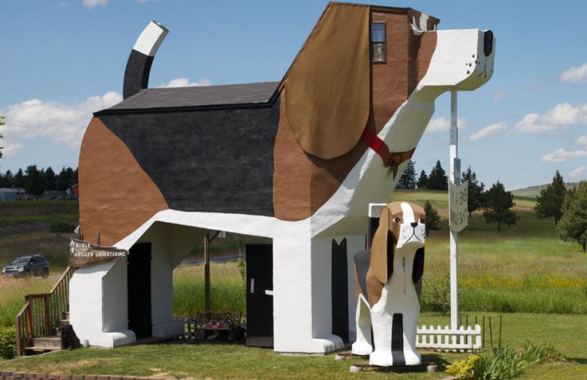 Dog Bark Park Inn (Verenigde Staten)