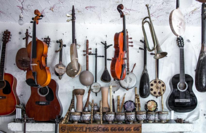 Muziekinstrumentenmuseum in Brussel