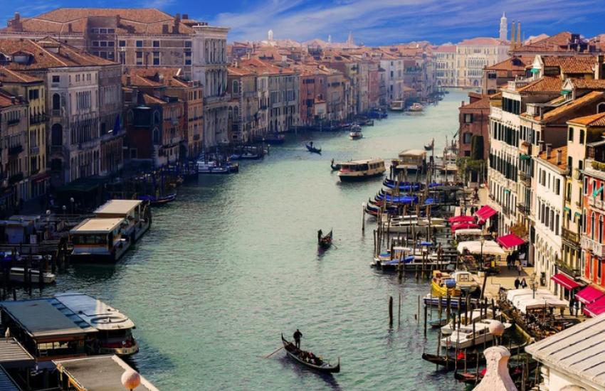Het grote kanaal, Venetië