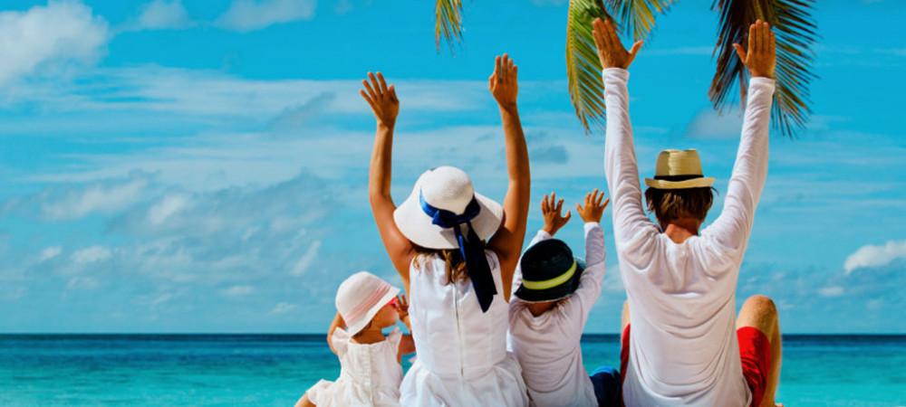 Met de kids op vakantie