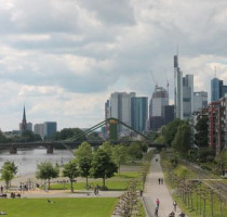 Ligging Frankfurt am Main