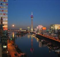 Ligging Düsseldorf