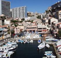 Ligging Marseille
