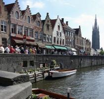 Ligging Brugge