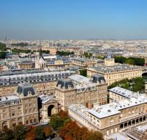 Ligging Parijs