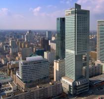 Ligging Warschau