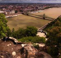 Ligging Boedapest