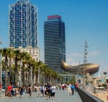 Weer en klimaat in Barcelona
