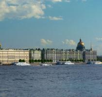 Ligging Sint-Petersburg