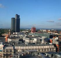 Ligging Manchester