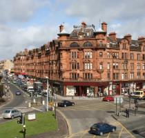 Ligging Glasgow