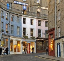 Winkelen en shoppen in Edinburgh