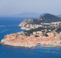 Ligging Dubrovnik