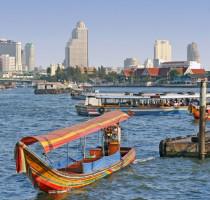Ligging Bangkok