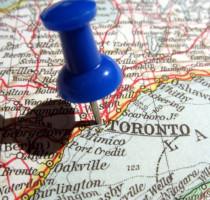 Ligging Toronto