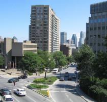 Ligging Montréal