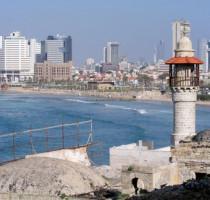Ligging Tel Aviv
