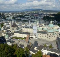 Ligging Salzburg