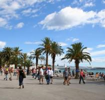 Weer en klimaat in Split