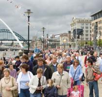 Weer en klimaat in Newcastle