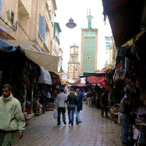 Kraampjes op de Ancienne Medina