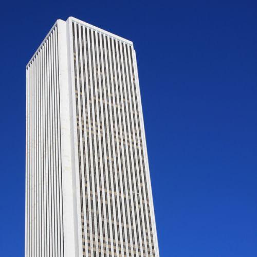 Top van het Aon Center