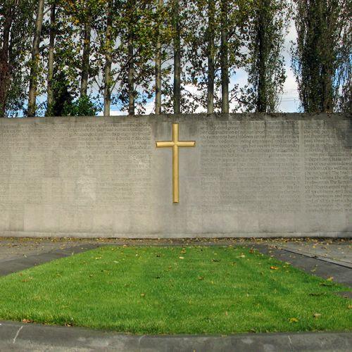 Muur van Arbour Hill Cemetery