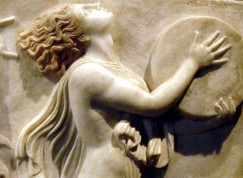Relief in het Museo Archeologico Nazionale
