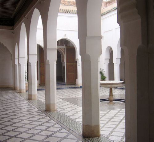 Bogen aan het Bahia-paleis