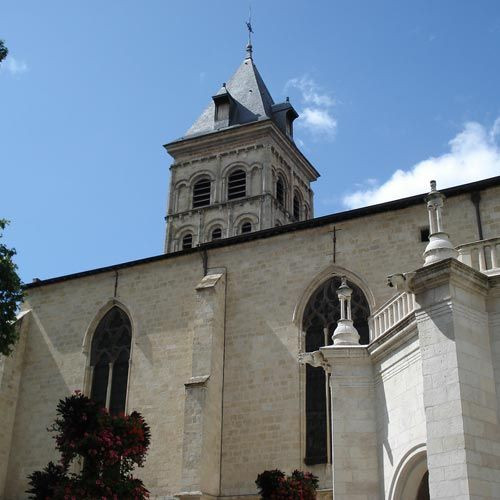 Toren van de Basilique Saint-Seurin