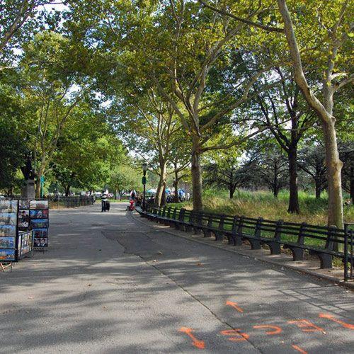 Wandelpad in Battery Park