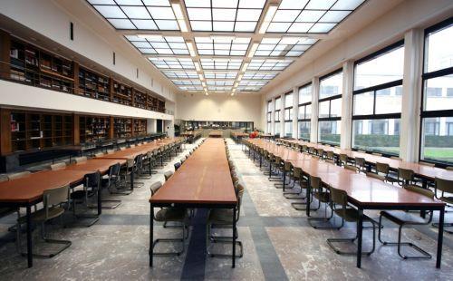 Leeszaal in de Boekentoren