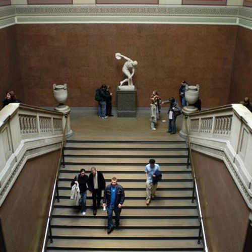 Trappen in het British Museum