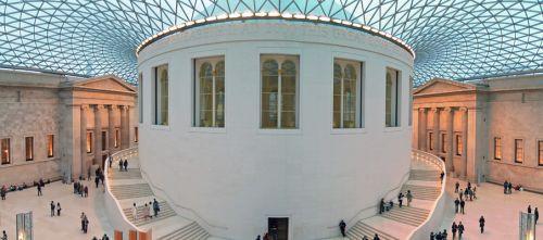 Beeld van in het British Museum