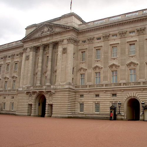Gevel van Buckingham Palace