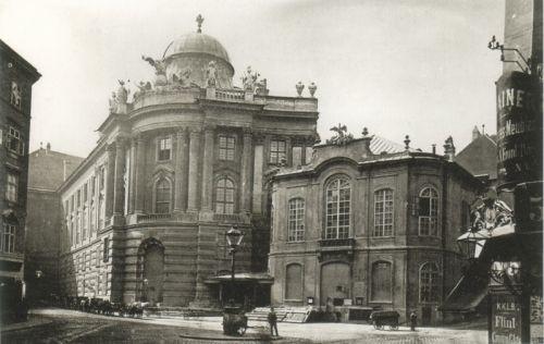 Het verleden van het Burgtheater