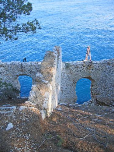 Ruïnes in Cassis