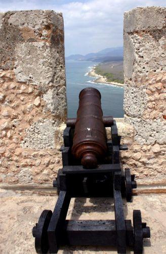 Kanon op het Castillo del Morro