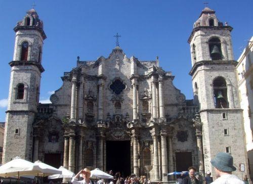 Gevel van de Catedral de San Cristóbal de la Havana