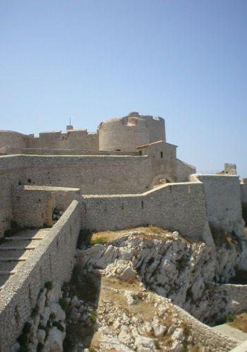 Beeld van het Château d´If
