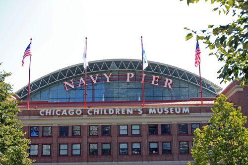 Voorkant van het Chicago Children's Museum