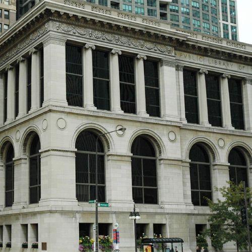 Deel van het Chicago Cultural Center