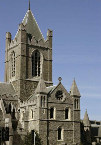 Toren van de Christ Church Cathedral