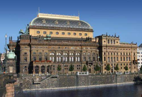 Gevel van het Nationaal Theater