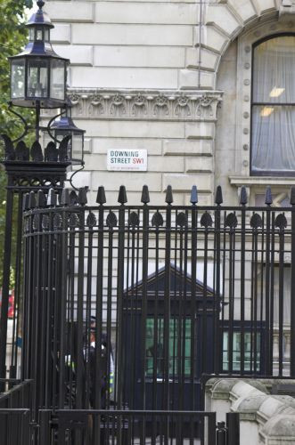 Hekken rond 10 Downing Street